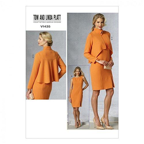 Vogue Damen Schnittmuster 1435 Jacke und Anzug.