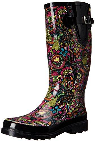 The Sak womens Rhythm Rain Shoe, Rainbow Spirit Desert, 6 US