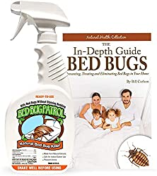 KILLS BED BUGS ON CONTACT. 100% Natural formula