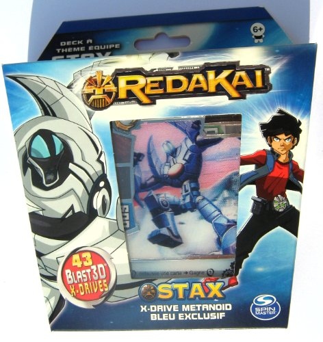Redakai Hobby Edition Stax Structure Deck with Exclusive Metanoid & Gold Pack Card 44 Cards Trading Cards