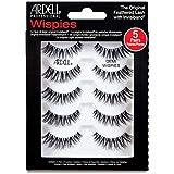ARDELL Professional Demi Wispies (1 x 5 Paar), Wimpern aus Echthaar, schwarz, black (ohne Wimpernkleber) ultraleicht, flexibel und wiederverwendbar