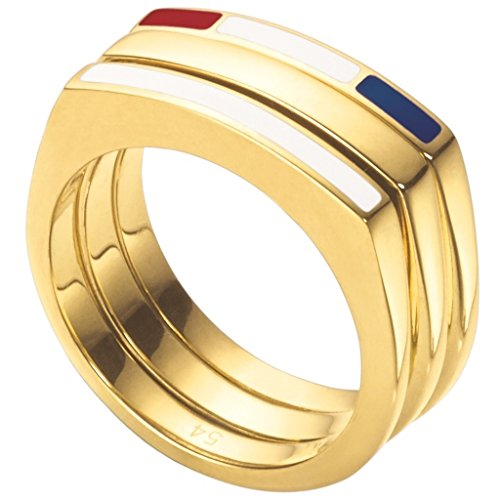 Anillo Tommy Hilfiger triple Anillos mujer 2700581C