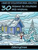 Libro de Colorear para Adultos: 30 Páginas de Colorear Frío Invernal: Volume 4 (Estaciones...