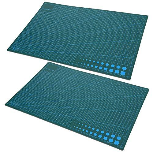 Tabla de cortar para manualidades, alfombrilla de corte resistente al desgaste Antideslizante Práctica Durable para el hogar de los estudiantes para la oficina para escritorio para cortar