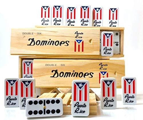 Puerto Rico Dominoes Domino de Puerto Rico, Doble SEIS, Domino Clasico Boricua, puertorriqueno