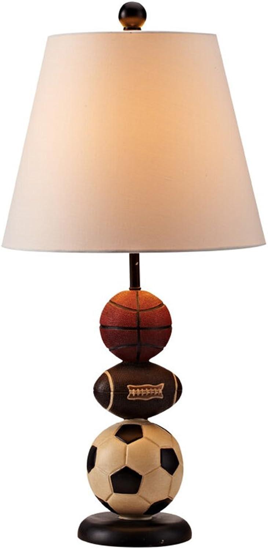 Kinder dekorative Tischlampe Tischlampe Tischlampe Schlafzimmer Nachttischlampe Studie amerikanischen Tischlampe modernen kreativen Tischlampe weißen Knopf B07H1H278L     | Zarte  89fb8c