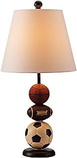 Kinder dekorative Tischlampe Schlafzimmer Nachttischlampe Studie amerikanischen Tischlampe modernen kreativen Tischlampe weißen Knopf B07H1H278L  Billiger als der Preis