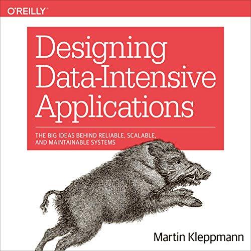 Designing Data-Intensive Applications Titelbild