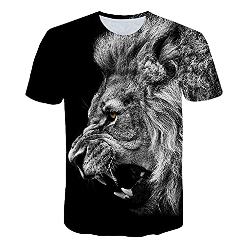ZZAL Camisetas Hombre Camiseta para Hombre Manga Corta Suelta de Gran Tamaño Ropa Interior Estampada Moda Ropa Casual para Gimnasio, Entrenamiento, Golf(Size:XXL,Color:Style2)