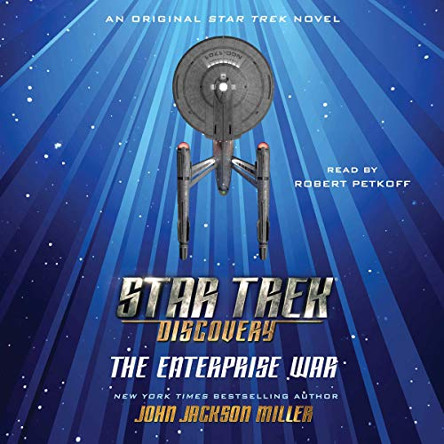Star Trek: Discovery: The Enterprise War audiobook cover art
