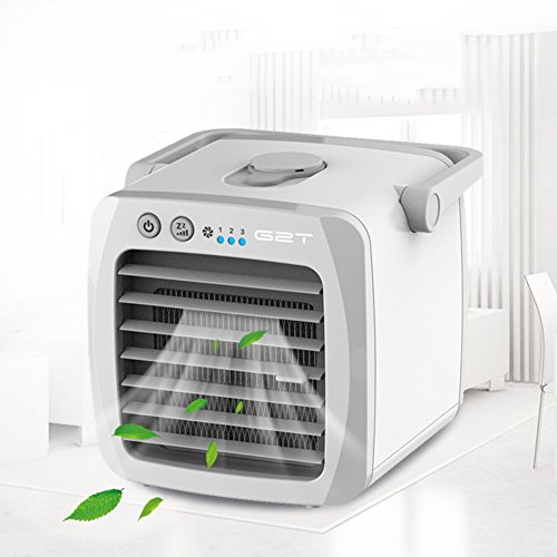 COOLER Espacio Personal Ventilador refrigerador Pequeño Climatizador Portátil...