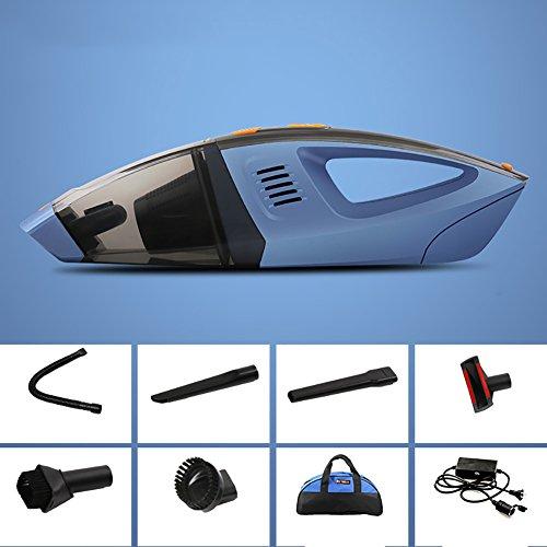 FJW Aspirateur de voiture Handheld Budget DC12 V voiture utilisation 100 W haute énergie sec et humide universel Aspirateur de voiture, bleu