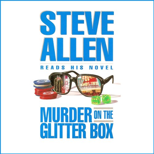 Murder on the Glitter Box audiobook cover art