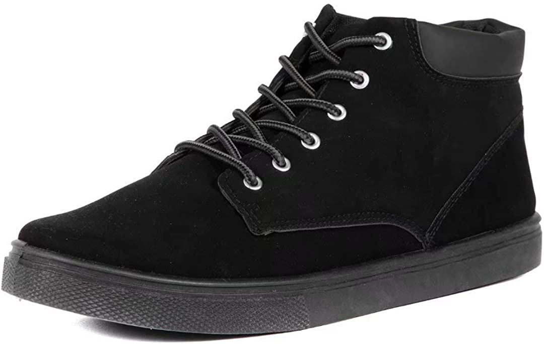 CHERRY POPO Men's Fashion Dallas Mall Classic mid-top Chukka Ank Casual Mens Sneaker