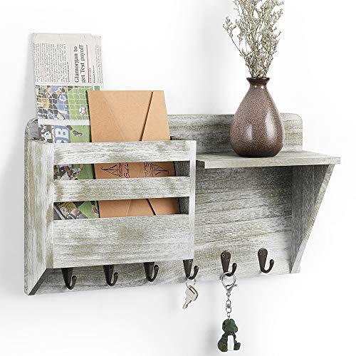 Wood 5 Tier Bookshelf Ladder Wall Shelf Modern Black Tall Bookshelf Bookcases and Book Shelves 5 Shelf Organizer Wooden Wall Shelf
