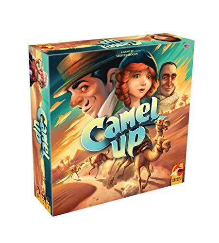 Plan B Games PBGESG50120EN Camel Up: 2nd Edition, Mixed Colors Marrón coloración del cabello , color/modelo surtido