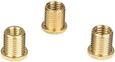 M101.25Mm Aluminum Alloy Threaded Mounting Nuts Insert For Manual Car Gear Shift Knob Gold 15Mm