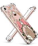 STSNano Case for iPhone 6 Plus/6S Plus 5.5',Fashion Cute Kawaii Cartoon Design Soft Clear TPU Cute Fun Cover, Character Anime for Girls Boys Teens Funny Cases for iPhone 6 Plus/6S Plus Bow Totoro