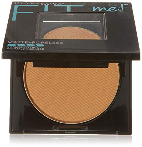 Price comparison product image Maybelline New York Fit Me Matte + Poreless Pressed Face Powder Makeup,  Coconut,  0.28 Ounce,  Pack of 1