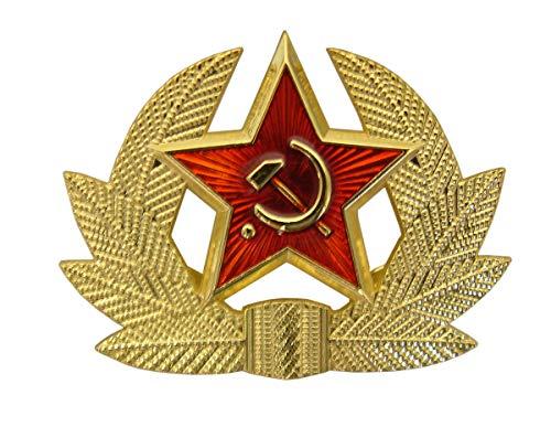 Russischer Sowjetischer UdSSR Stil Metall Hutabzeichen