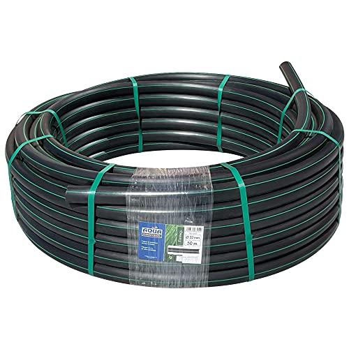 Aqua Control 63250 Tubería Riego, Negro, 5000 X 3.2 X 32 mm