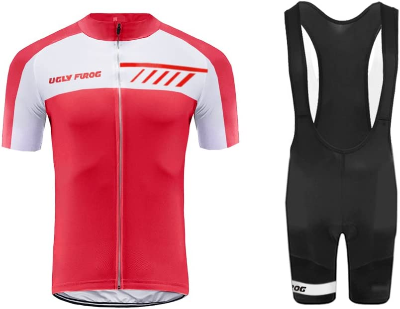 Uglyfrog Men's Cycling Jersey Full-Zipper Regular New Orleans Mall discount Breathable Comfortable