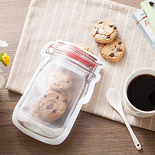 Trihedral-X zegel voor het huishouden, draagbaar, Mason fles, ritssluiting, plastic zakken voor vochtige vruchten en droge vruchten