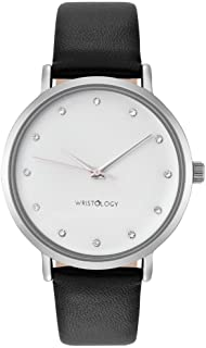 Olivia - 6 Options - Womens Crystal Silver Watch