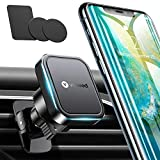 VICSEED Magnetic Phone Holder for Car [Upgrade Metal Clip] Magnetic Car Mount Air Vent [6×Strong Magnet] Cell Phone Holder for Car Fit for iPhone 11 Pro Max XR X SE Galaxy S21 S20 Note 20 All Phones