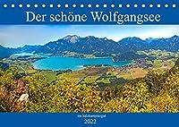 Der schoene Wolfgangsee im Salzkammergut (Tischkalender 2022 DIN A5 quer): Die schoensten Plaetze am Wolfgangsee (Monatskalender, 14 Seiten )