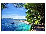 kunst-discounter Kroatien Croatia Strand Leinwandbilder auf