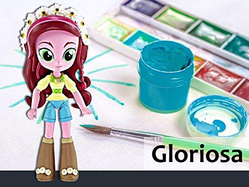 How to Make a Custom Gloriosa Daisy Mini Doll