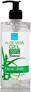 100% Natural Gel de Aloe Vera Puro de Canarias Hidratante Rostro Cuerpo Dispensador 500 ml - DEPILACIÓN - Acondicionador G...