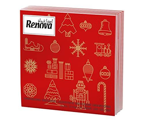 Renova Servilletas Navidad - 20 Servilletas de Papel