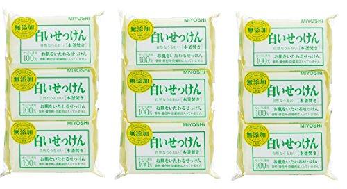 ミヨシ石鹸(MIYOSHI) 無添加 白いせっけん