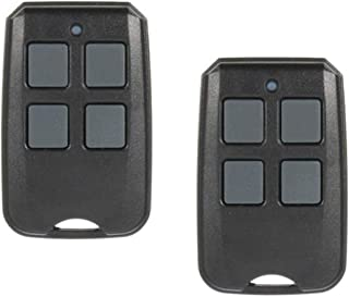 2 Pack - 4 Button 315/390 MHz Garage Door Opener Remote Control Replacement for G3T-BX, 37218R, GM3T-BX