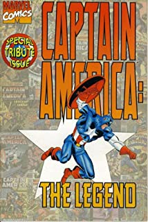 Captain America The Legend: Special Tribute Issue #1 (Marvel Comic Book September 1996)