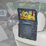 TFY soporte para reposacabezas de coche soporte para Estándar (tipo portátil) reproductor de DVD portátil