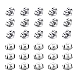 30pcs/15 Pairs 925 Sterling Silver Earring...