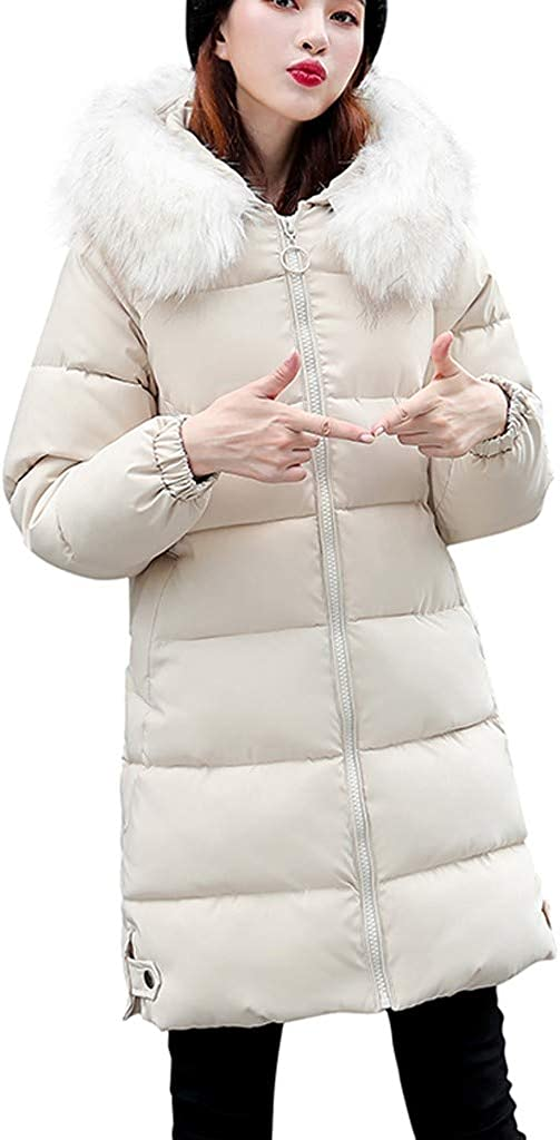 Mikey Store Women Winter Warm Thick Hooded Coat San Diego Mall Jacke High material Loose