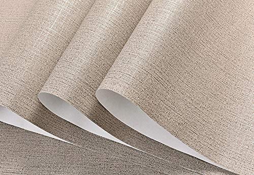 Behang rol minimalistische effen linnen vlies 3D fotobehang volledig minimalistische ontwerpen voor woonkamer slaapkamer Art Deco 0,53 x 10 m 5