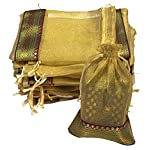 KRIWIN Women's Potli (Set of 50) (PotliBRGold50_Gold)