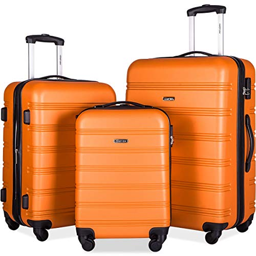 Merax Travelhouse Luggage 3 Piece Expandable Spinner...