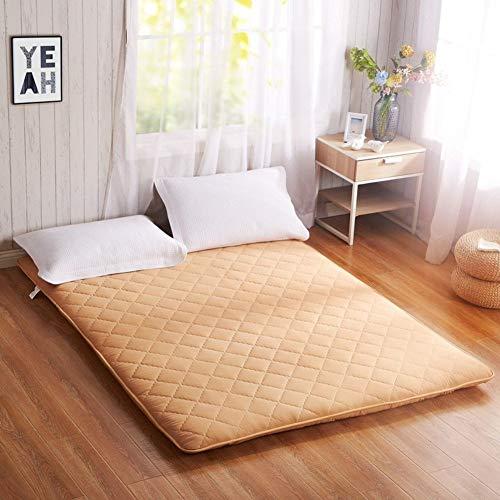 MKXF Materasso Futon con Pavimento in Camera da Letto Calda, dormitorio per Studenti Pieghevole più Spesso