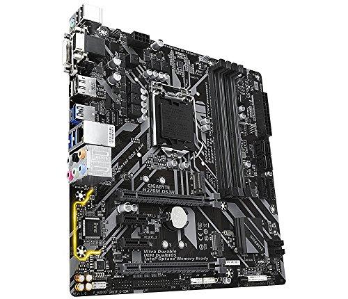 Gigabyte H370M DS3H Mainboard Schwarz