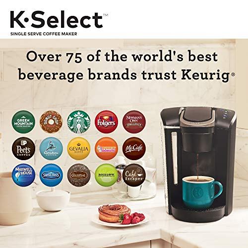 Compare Keurig K-Select and Keurig K-Elite Coffee Maker