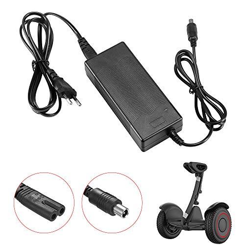 DEBEME Adaptador de Cargador de batería para Xiaomi Mijia M365 Skateboard eléctrico ES1 / ES2 9Scooter EU 42 V 2A