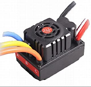 FVT 120A Brushless Sensored/Sensorless Car ESC, 2-6S