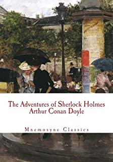 The Adventures of Sherlock Holmes (Large Print - Mnemosyne Classics): Complete and Unabridged Classic Edition