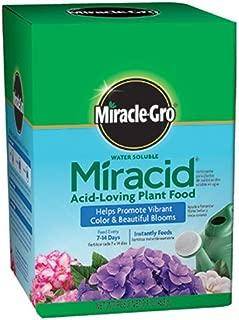 Scotts Company 185001 Garden Pro Water Soluble Miracid Acid Loving Plant Food, 4-Pound